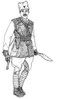 British Indian Army Officer by linseed