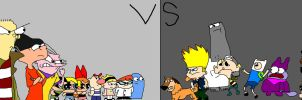 Cartoon Network vs CN 2 by Loudmouth17