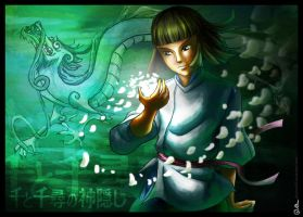 Haku... Spirited away by DavinArfel