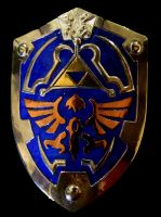 Hyrule Hero Shield by Silverthink