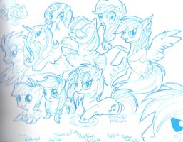 My favourite little pony by Rethys