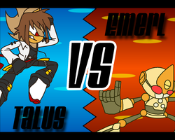 RQ - Talus VS Emerl by Racingwolf191