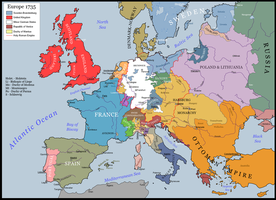 Where Hearts Were Entertaining June: Europe 1735 by ToixStory