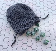 Steel dice bag by silverfaction
