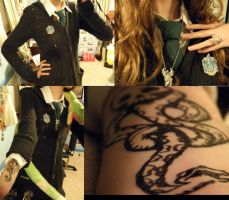 Slytherin cosplay by zimismysexylover