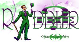 the riddler from batman by mademyown