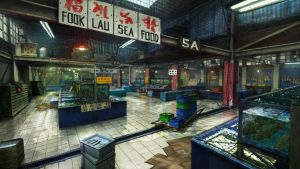 Sleeping Dogs concept - Aberdeen Fish Market by Kuren