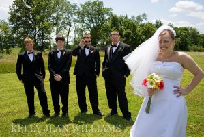 Jenni and Groomsmen by Lovesong4no1