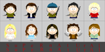 Supernatural South Park by animemoon7
