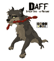 .: Stray Dog - Daff :. by Meoxie