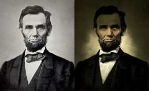 Abraham Lincoln by SpicerColor