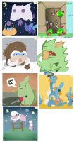 Fave Iscribbles by ditto9