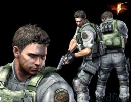 Chris Redfield by kaoyon