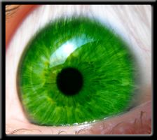 Green eye by Bokor
