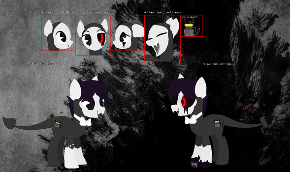 Bendy the demon mlp reference by Speedpaintwithmoon