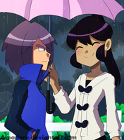 [Invertshipping] It's raining by Amadere