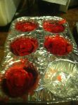 Bloody cupcakes unfinished by Death10281