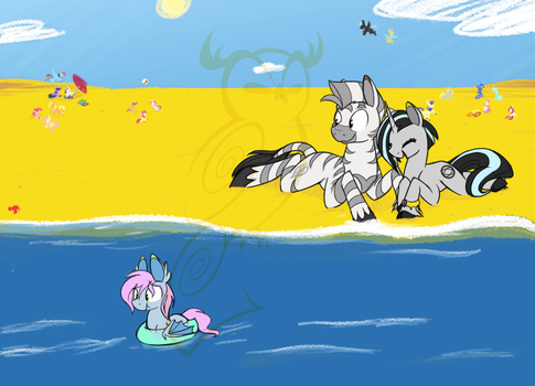 Beach Day :commish: by Selective-Yellow