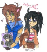Kyle and Lily by Nicktoons4ever