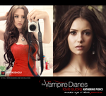 Katherine Pierce - The Vampire Diaries - WIP I by Mizukishou