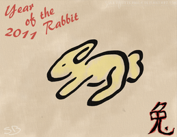 Year of the Rabbit by SweetButtermilk