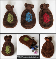 Rupee Dice Bags by Wildphoenix22