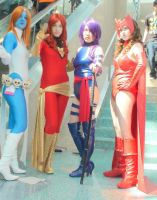 Marvel Girls at the Anime Expo 2012 by trivto