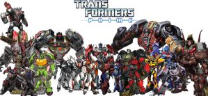 Transformers Prime Autobots My Version by Connorgodzilla