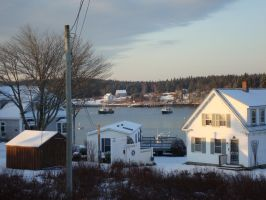 Winter in Maine 003 by mirengraphics