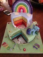 My Birthday Cake!:3 by TheDaisyQueen