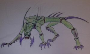 insect creature by NerdSmile