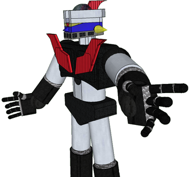 Mazinger 3d by spidermoises