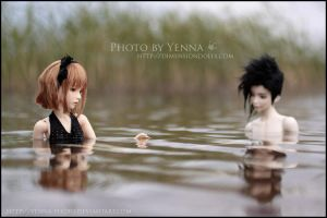Water talk by yenna-photo
