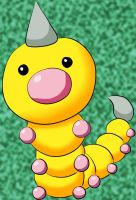 013 Weedle Lineart By Lilly Gerbil by xxPandora-Shiorixx