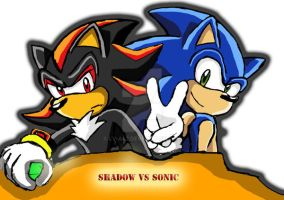 shadow vs sonic by lv-a42