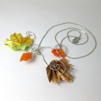 Autumn Breeze Pendant by pandacub143