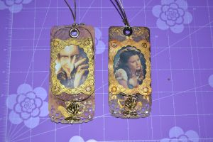 Once upone a time bookmarks by Giraresole