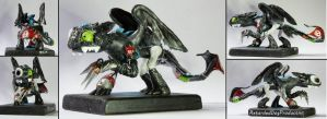 Toothless Scissor Skellington by RetardedDogProductns