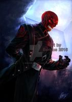Marvel : Red Skull by Beriuos
