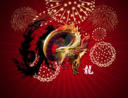 2012 Dragon calendar by gyrfalcon65