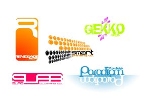 Typo logo's by saChicals