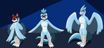 Comission: Birdie Suit (Articuno TF TG) by PhoenixWulf