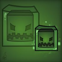 Minecraft Mob Spotlight: Slime by TruCorefire
