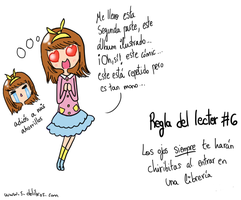 Reglas del lector 6 by Thegirlins