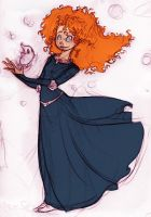 Merida Brave by mzelBulle