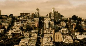San Francisco from Coit Tower 1 by Arisingdrew