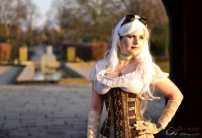 Steampunk in the Park by ArcanaPhotographic