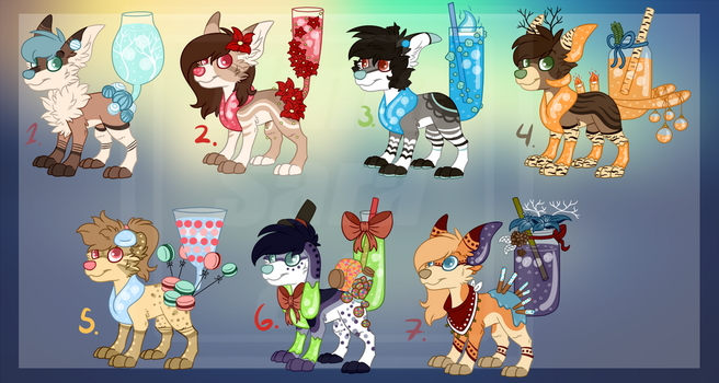 Winter PupPoppies OTA (CLOSED) by HimeAdoptions