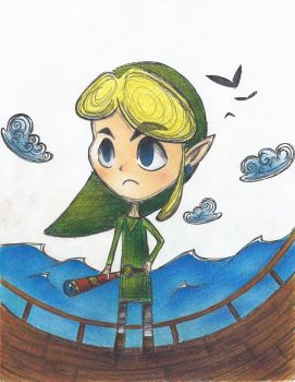 Scribble Link-Colored by hello-kello