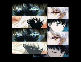 Kagome Sesshomaru Wallpaper by CresentMoonPrincess